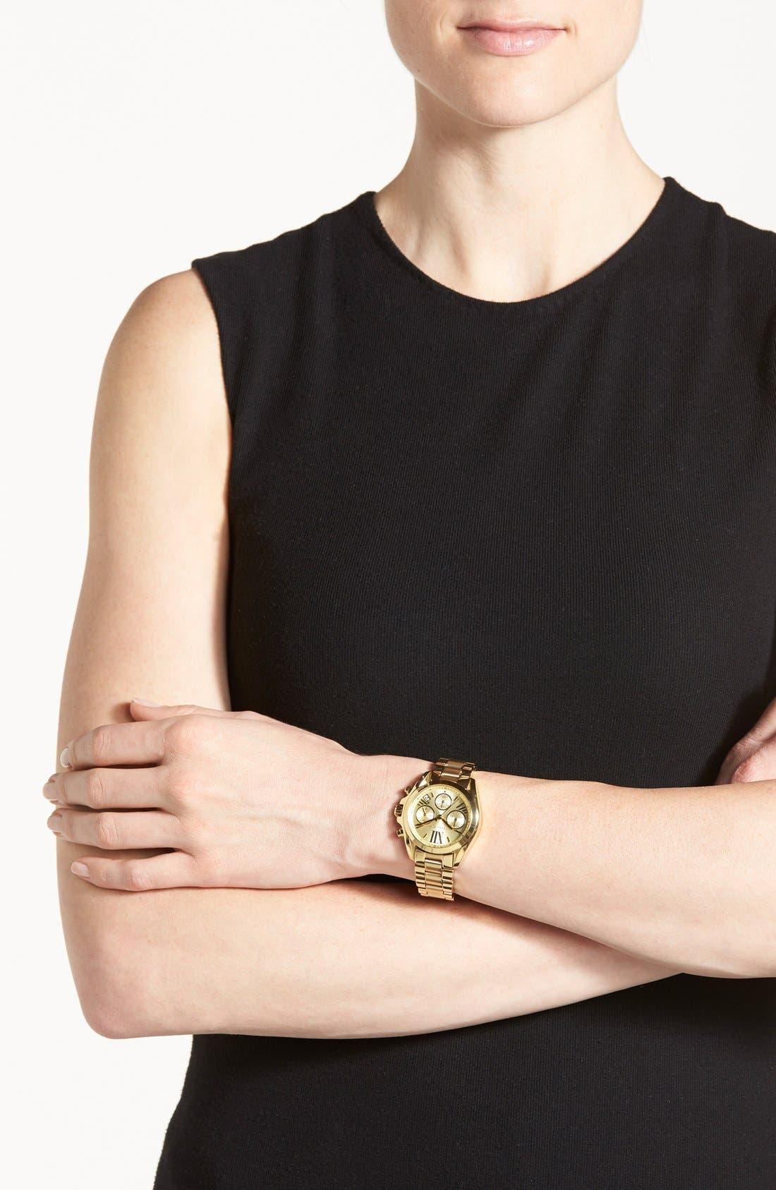Alternate Image 5  - Michael Kors 'Bradshaw - Mini' Chronograph Bracelet Watch, 36mm
