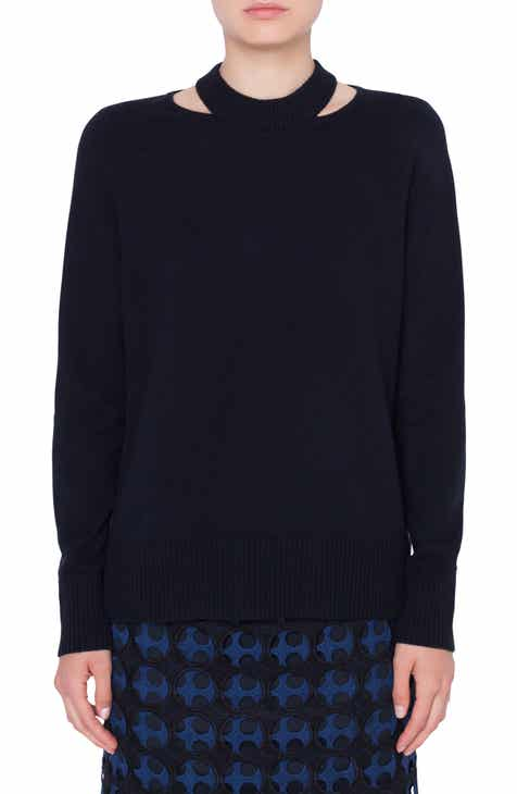 Akris punto Semi Circle Cutout Pullover by AKRIS PUNTO