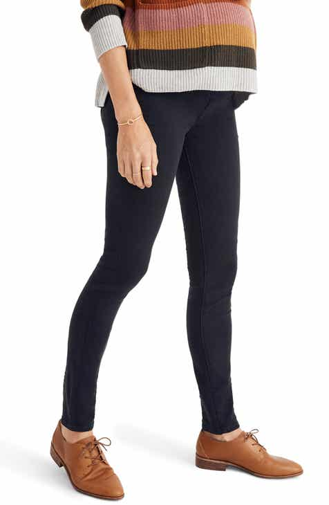 8dd53a3a3f17c Madewell Over the Belly Maternity Skinny Jeans (Lunar)