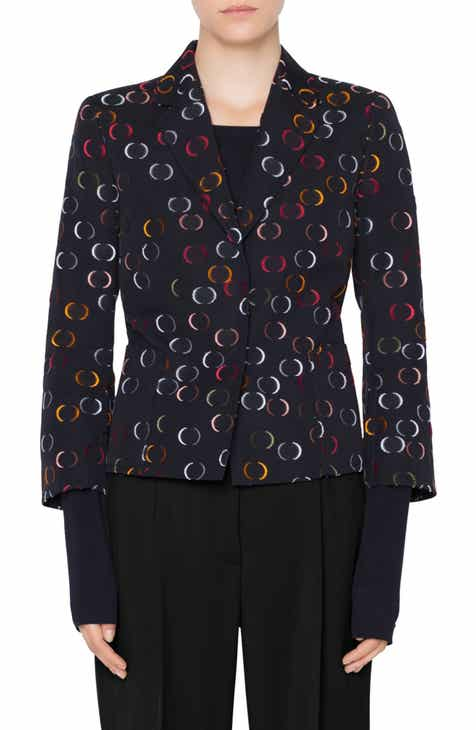 Akris punto Circle Jacquard Jacket by AKRIS PUNTO
