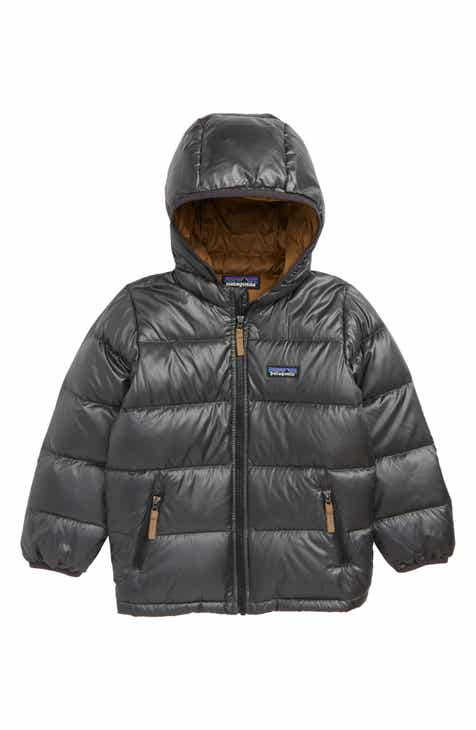 e89553d424f1 Patagonia Reversible Water Resistant 600-Fill-Power Down Hooded Jacket ( Toddler Boys)