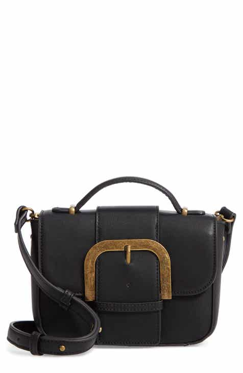 a25ba19ffc55 Malibu Skye Oversize Buckle Top Handle Bag