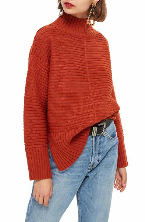 d0373e0c726 Topshop Mock Neck Sweater