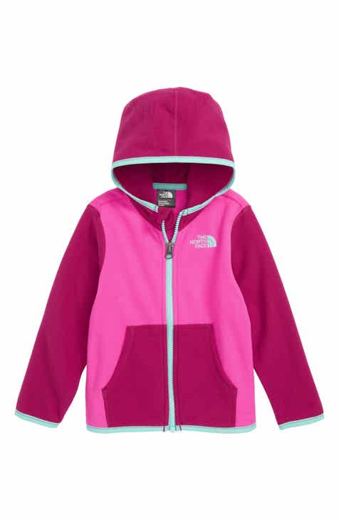 3a3da6169b6 The North Face Glacier Full Zip Hoodie (Baby Girls)