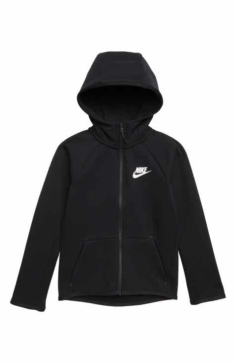 4055787f16de Nike Sportswear Tech Fleece Zip Hoodie (Little Boys   Big Boys)