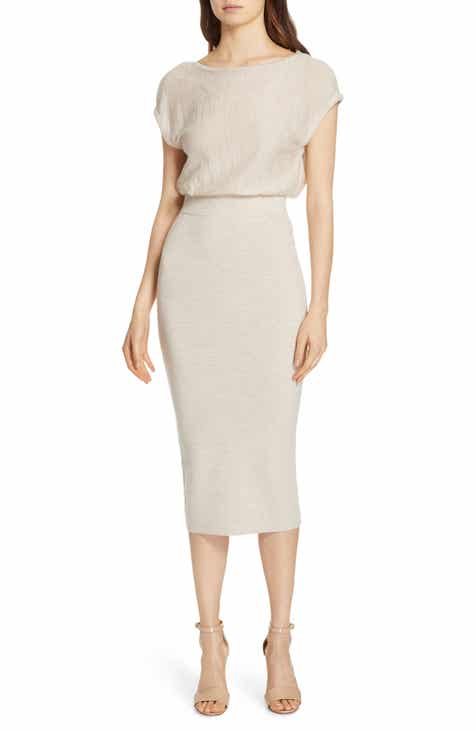 cd7b320aab Alice + Olivia Shara Twist Back Blouson Dress