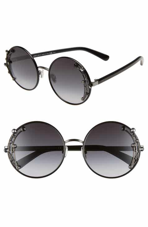 385a56ea32 Jimmy Choo Gema 59mm Round Sunglasses