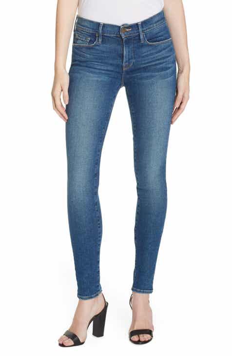5604ab479 FRAME Le Skinny de Jeanne Jeans (Woodley)