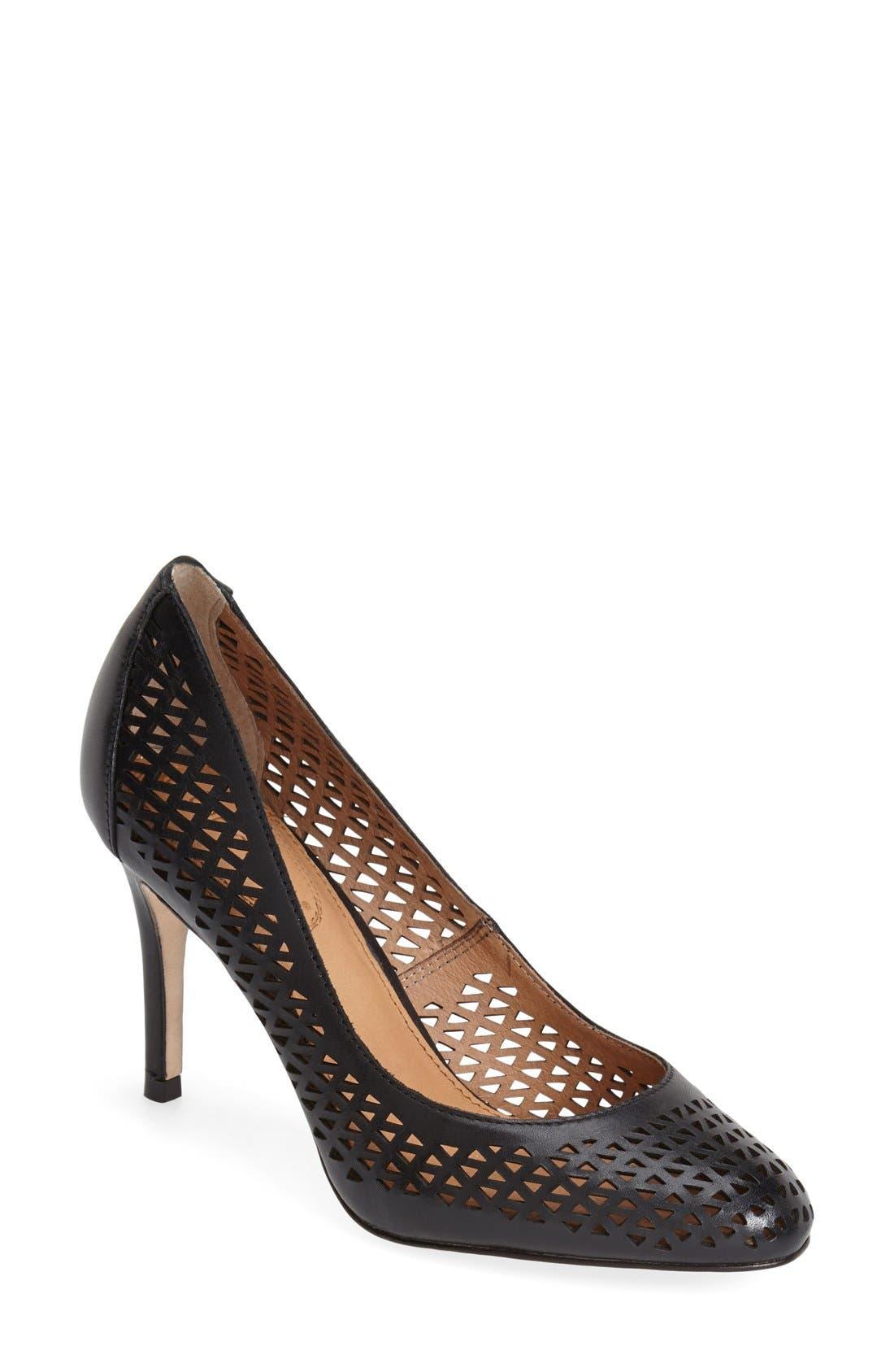 Main Image - Corso Como 'Wanda' Perforated Leather Pump (Women)