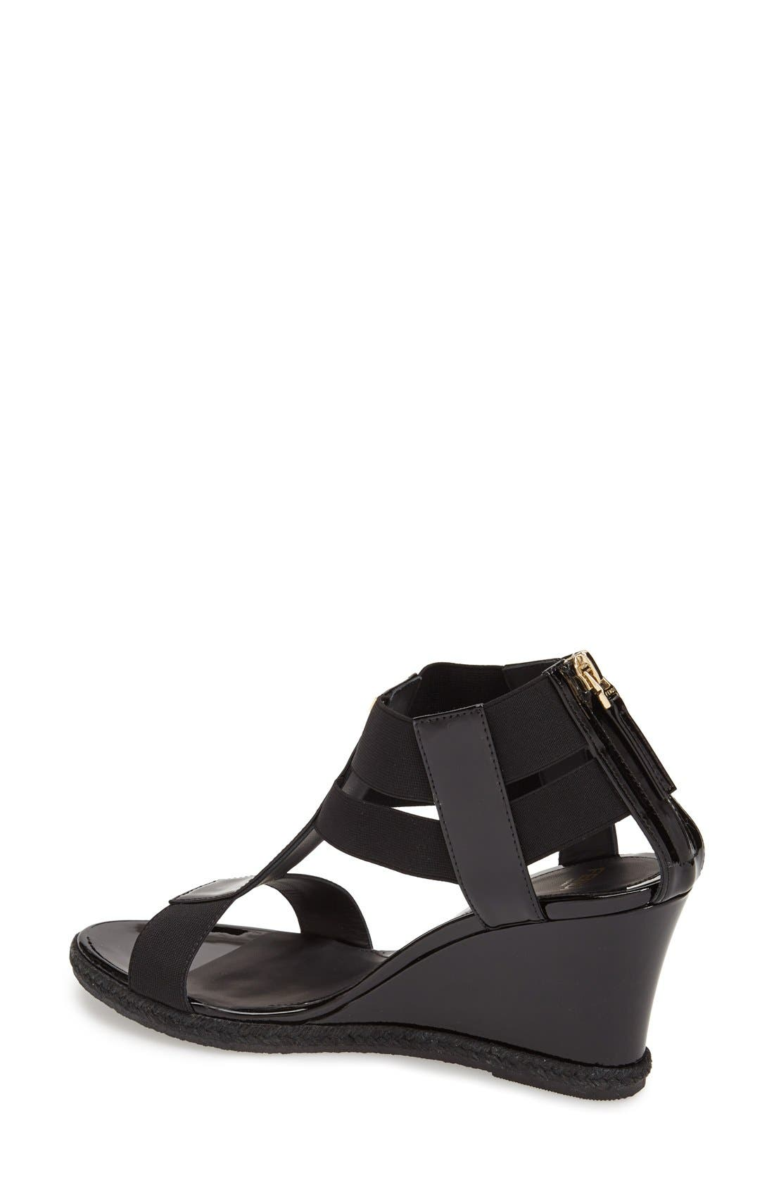 Alternate Image 2  - Fendi 'Carioca' Wedge Sandal (Women)
