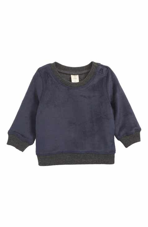Tucker + Tate Fuzzy Sweatshirt (Baby Boys)