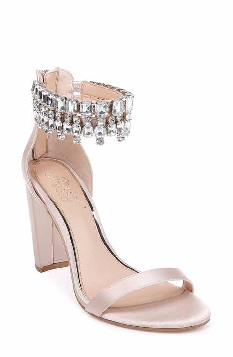 81fa0be68511f4 Jewel Badgley Mischka Dancer Ankle Strap Sandal (Women)