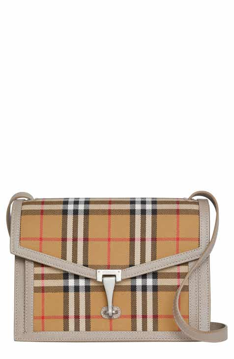 183d7f65359 Burberry Small Macken Vintage Check Crossbody Bag