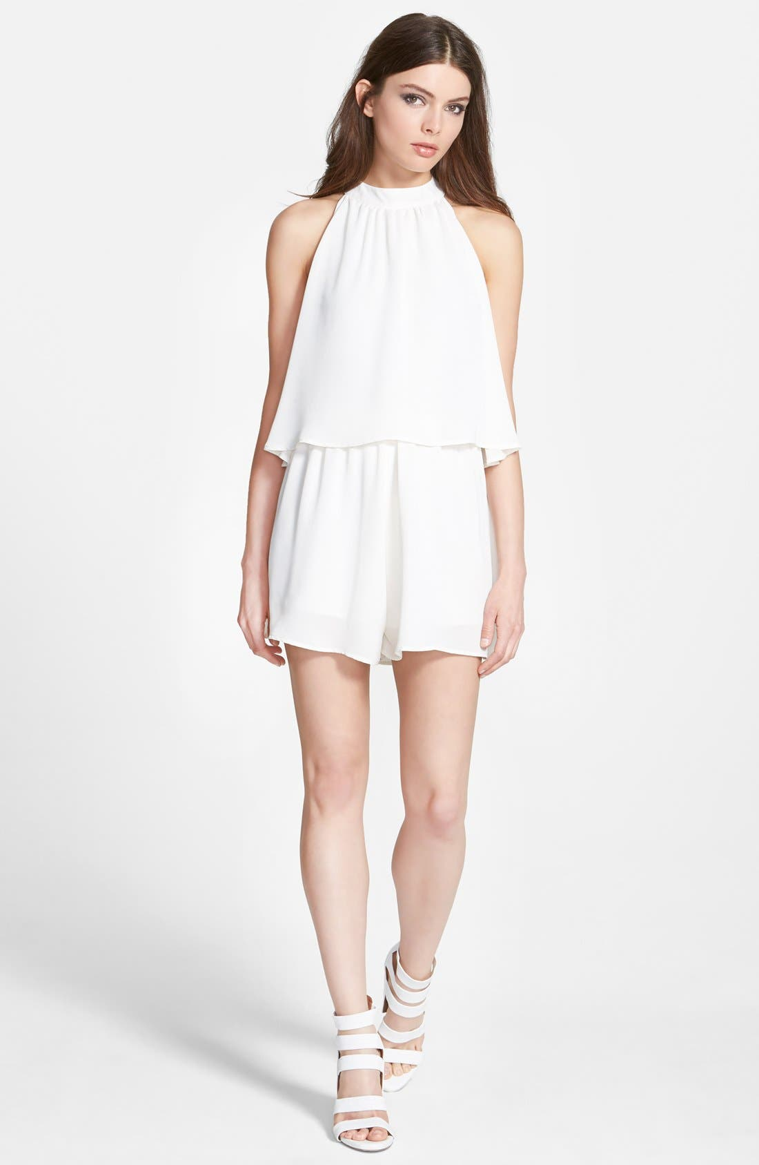 Alternate Image 1 Selected - Leith High Neck Romper