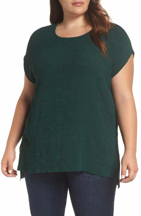 215ad293f7 Dantelle High Low Crinkle Top (Plus Size)
