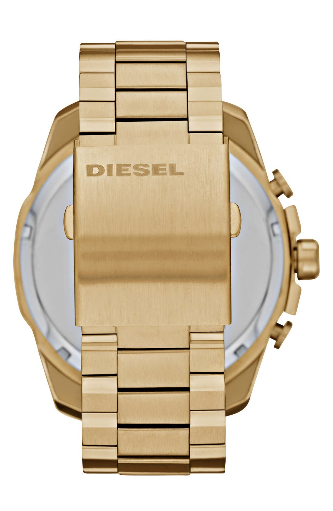 Alternate Image 2  - DIESEL® 'Mega Chief' Chronograph Watch, 51mm
