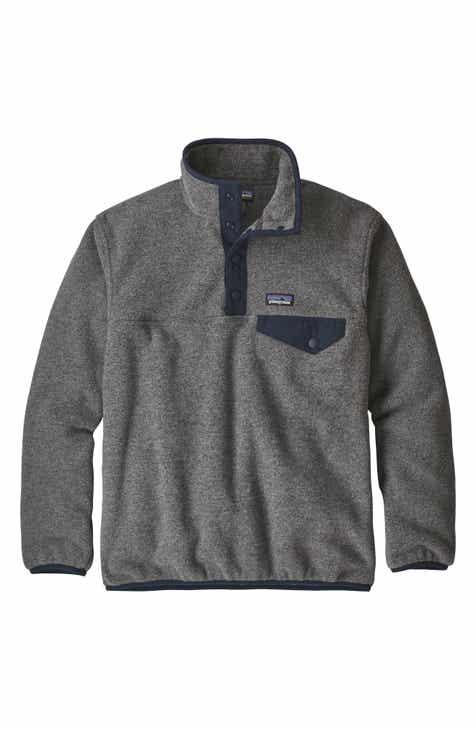 0e128b49bc832 Patagonia Synchilla® Snap-T® Fleece Pullover (Little Boys   Big Boys)