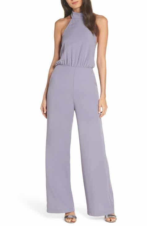 e497ac6f3ddff Lulus Moment for Life Halter Jumpsuit