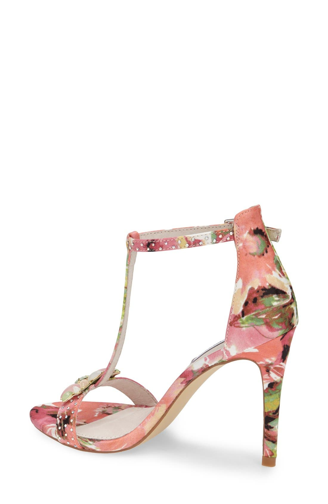 Alternate Image 2  - Steve Madden 'Shawna' Embellished T-Strap Sandal (Women)