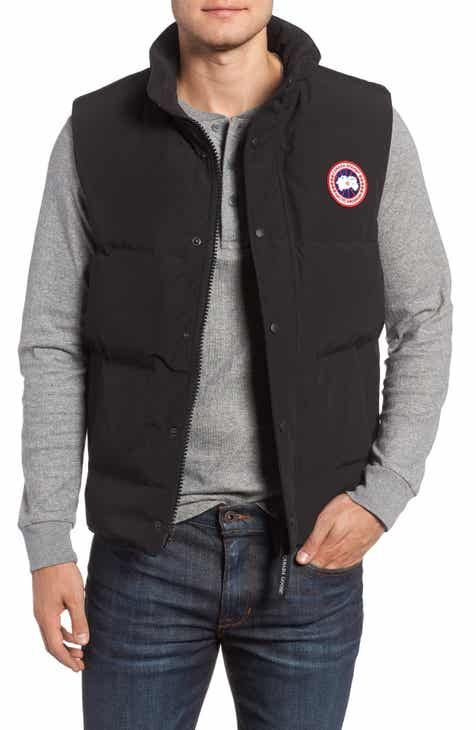 37755ea20800 Canada Goose Garson Regular Fit Quilted Down Vest