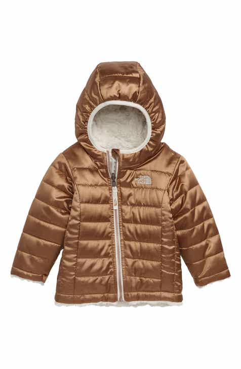 The North Face Mossbud Swirl Reversible Water Repellent Heatseeker™  Insulated Jacket (Baby Girls) ed507af3aa