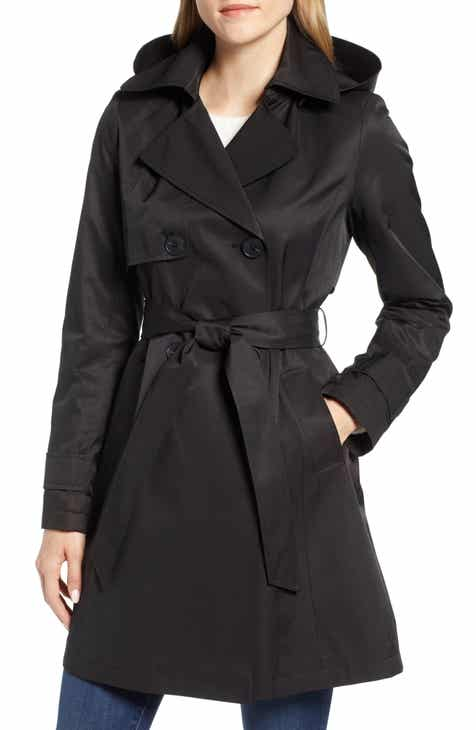 Halogen® Hooded Trench Coat By HALOGEN by HALOGEN Fresh
