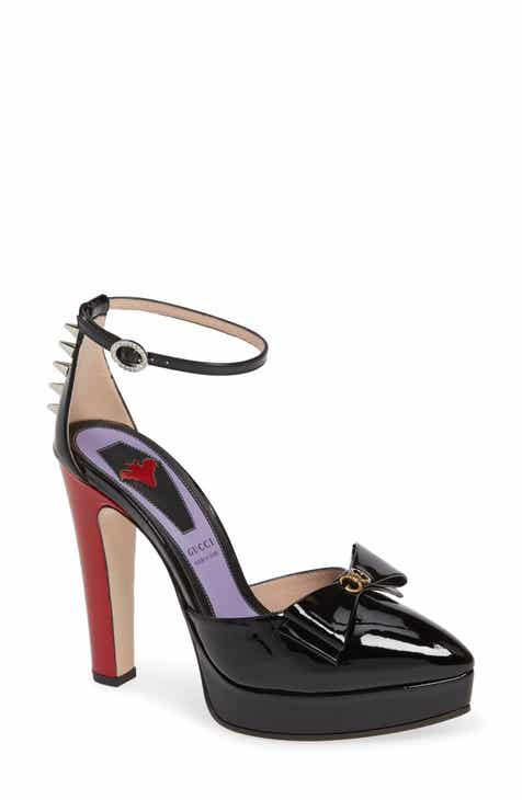 b8be61671e4 Gucci Sadie Spike Platform Pump (Women)