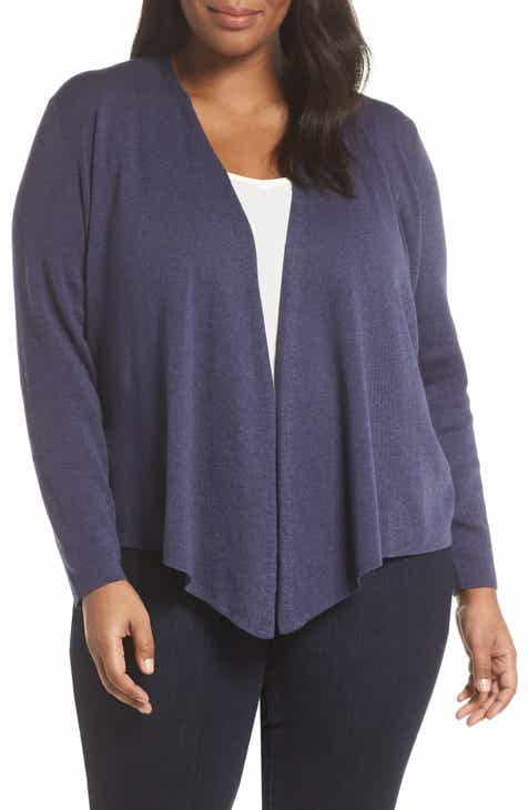 540e5d0eb1c NIC+ZOE Convertible 4-Way Cardigan (Plus Size)