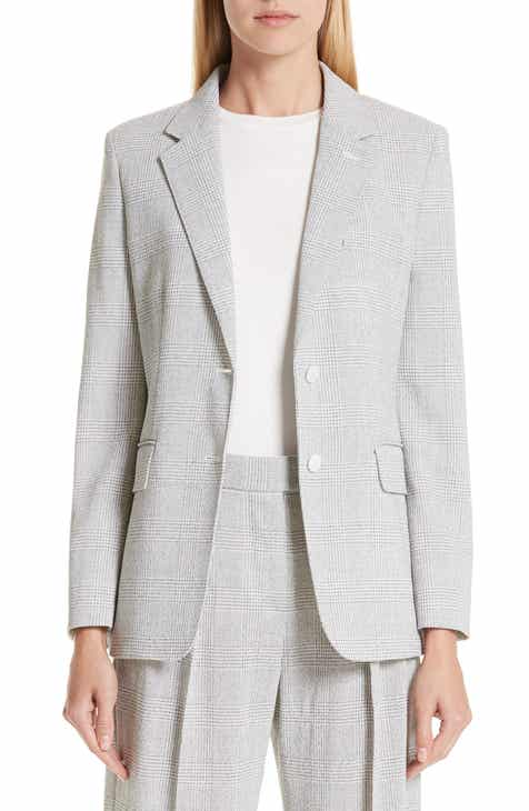 Max Mara Kent Glen Plaid Wool Jacket by MAX MARA