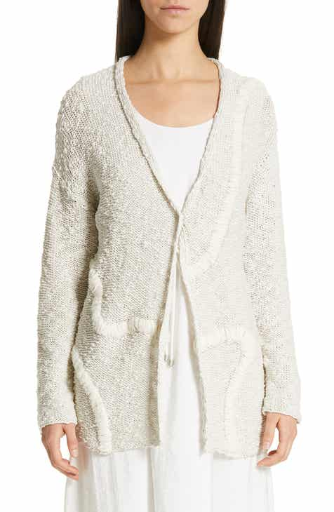 Fabiana Filippi Embroidered Long Cardigan by FABIANA FILIPPI