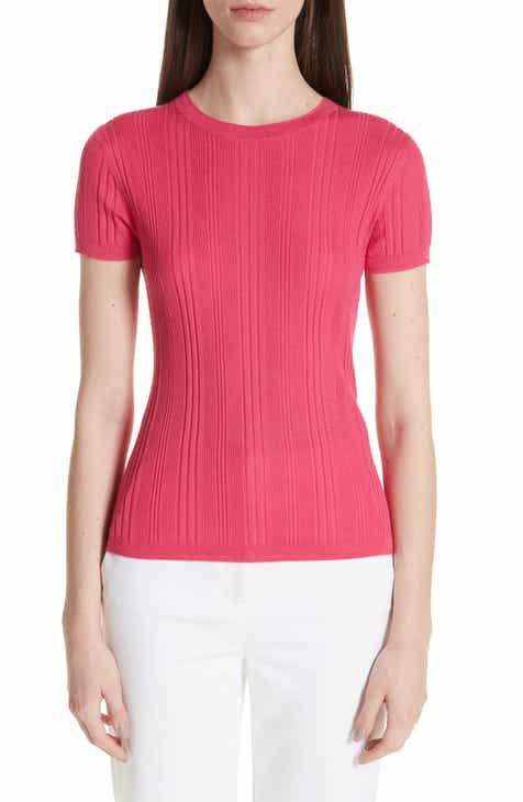 St. John Collection Superfine Variegated Rib Sweater by ST. JOHN COLLECTION
