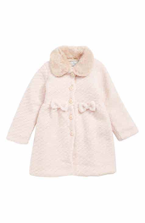 e256c518c Widgeon Faux Fur Collar Coat (Toddler Girls & Little Girls)