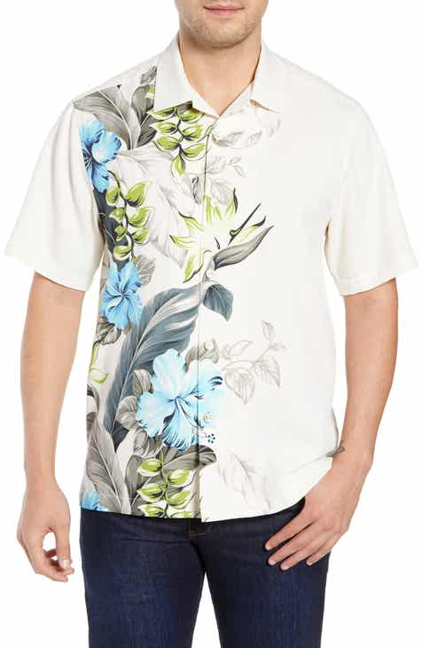 2270d0922ae0 Tommy Bahama Garden of Hope and Courage Silk Camp Shirt