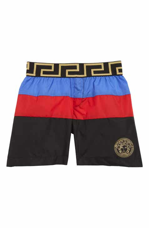638f3125c7a Versace Colorblock Swim Trunks (Baby)