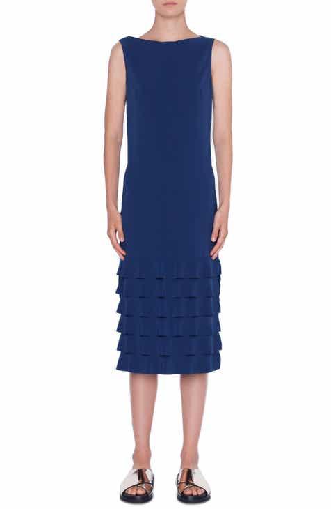7eedc66d6a Akris punto Wave Hem Midi Dress