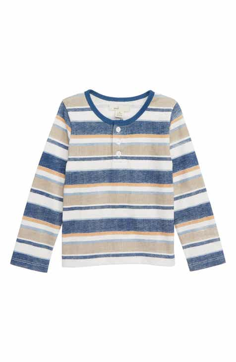 Peek Essentials Stripe Henley T-Shirt (Baby)