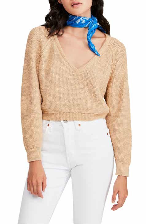 Free People V-Neck Sweater 6cb6b10cd
