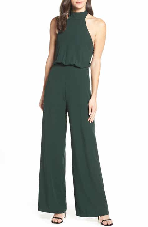 95ba3f346f7 Lulus Moment for Life Halter Jumpsuit