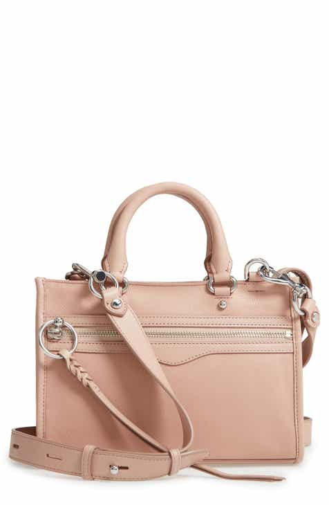 56fe060d8ea Rebecca Minkoff Micro Bedford Leather Satchel