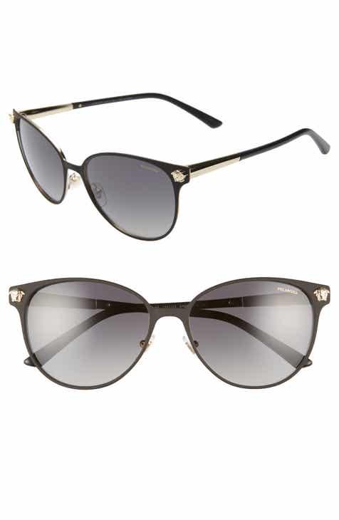 8cbeb4028e2 Versace 57mm Gradient Cat Eye Sunglasses