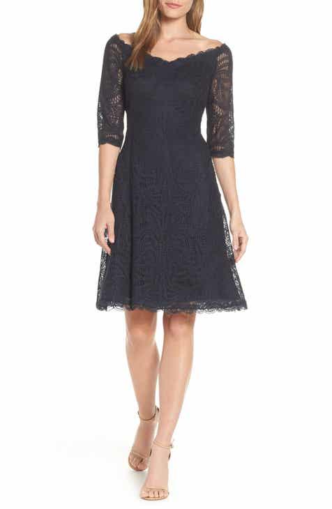 84745dd2f83 Tadashi Shoji Off the Shoulder Lace Dress