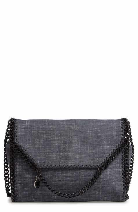 Stella McCartney Large Falabella Denim Shoulder Bag aebf73b306da8