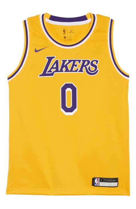 4ba3aede904 NBA Logo Los Angeles Lakers Kyle Kuzma Basketball Jersey (Big Boys)