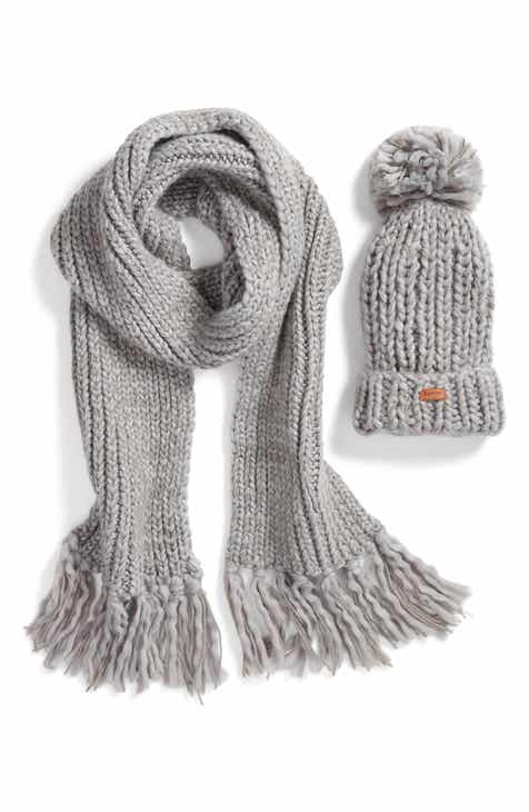 Barbour Chunky Knit Hat   Scarf Set fc477252b8a8
