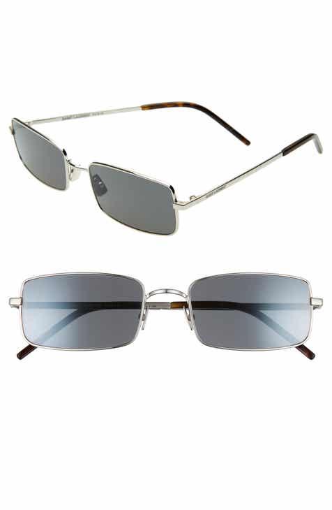 6d857f08f2 Saint Laurent 56mm Rectangle Sunglasses