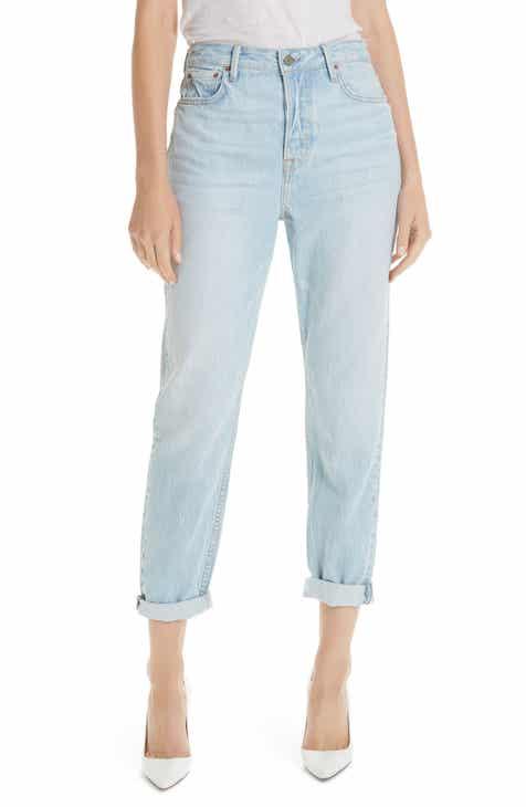 221f883edda GRLFRND Devon Cuff Boyfriend Jeans