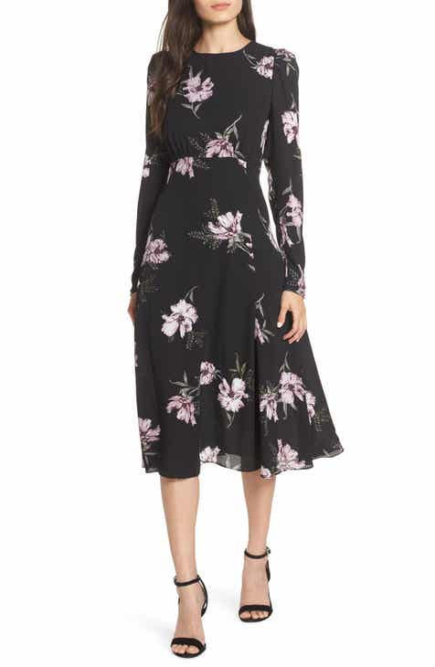 Long Sleeve Cocktail Party Dresses Nordstrom