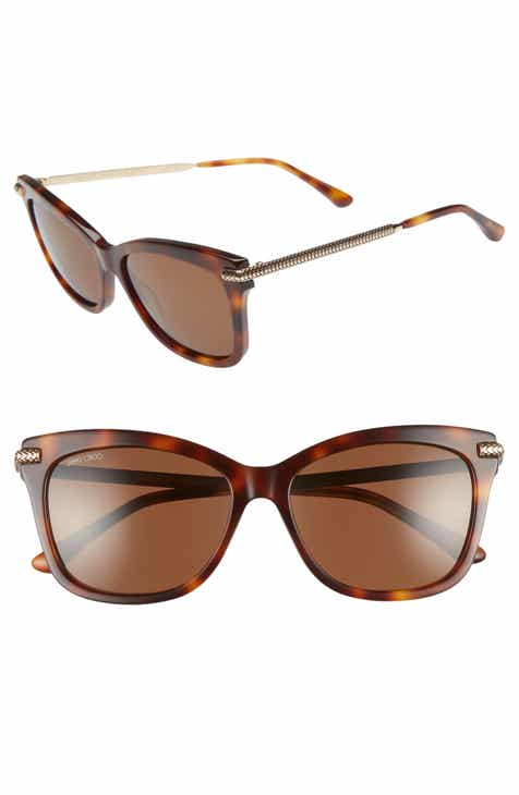 1411f2249eaa Jimmy Choo Shade 55mm Cat Eye Sunglasses
