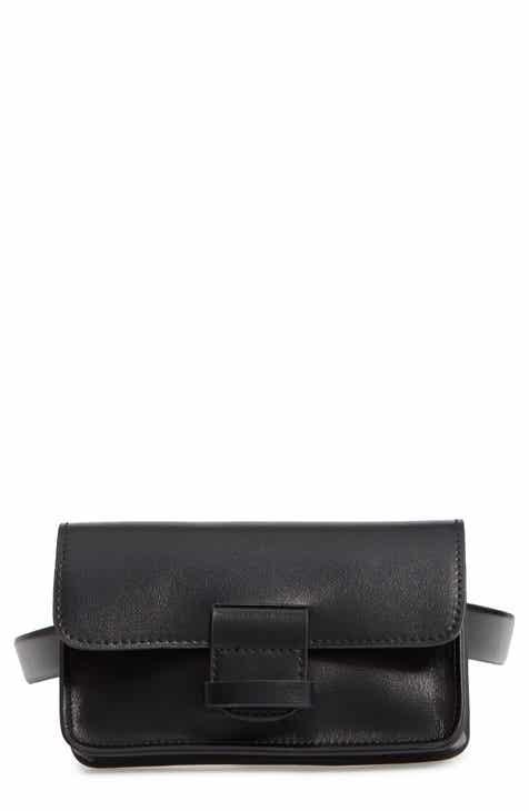a64f32619f43 Halogen® Faux Leather Belt Bag