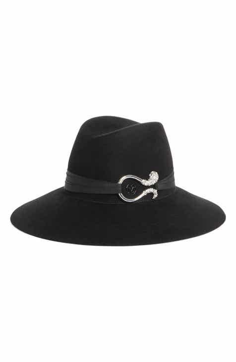 d705c84591c Maison Michel Kate Strass Tentacles Rabbit Hair Felt Hat